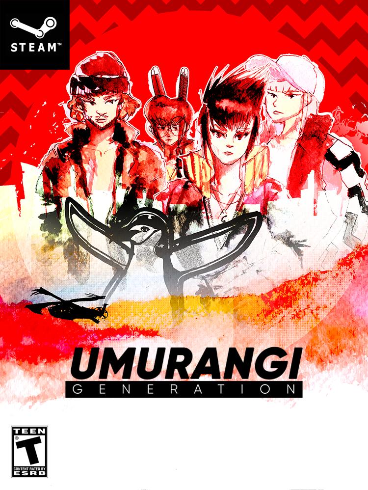 Umurangi Generation game cover for Steam