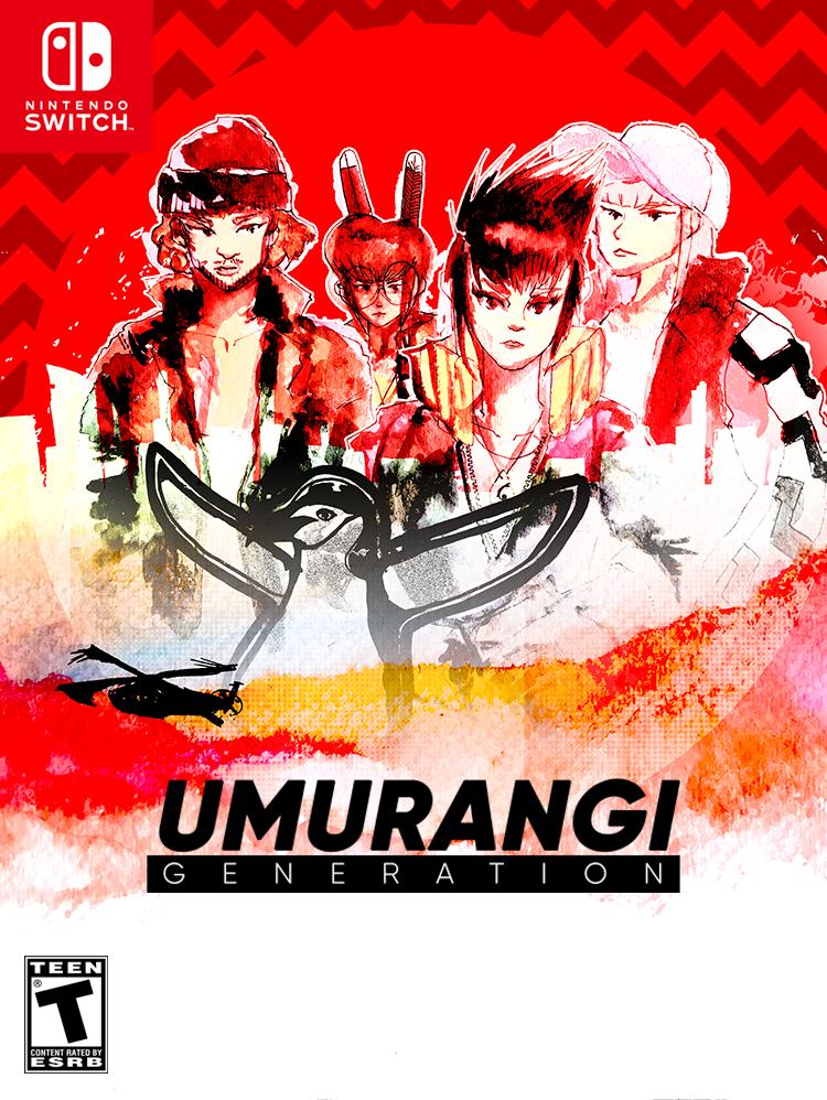 Umurangi Generation game cover for Nintendo Switch